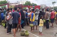 Gandeng Pertamina Pemkot Bima Gelar Operasi Pasar LGP 3 Kg