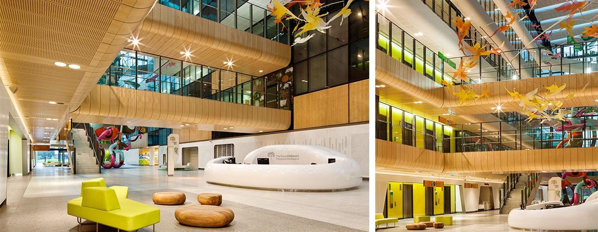 Kemuels Design Studio Hospital Case Studies Royal Children S Hospital Melbourne Australia
