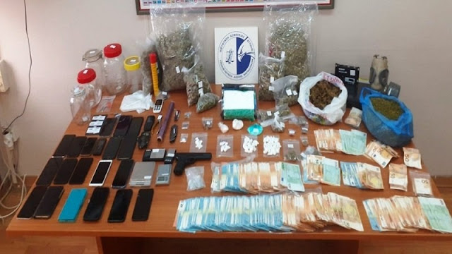 6 Albanians arrested in Greece, part of a drug trafficking organization