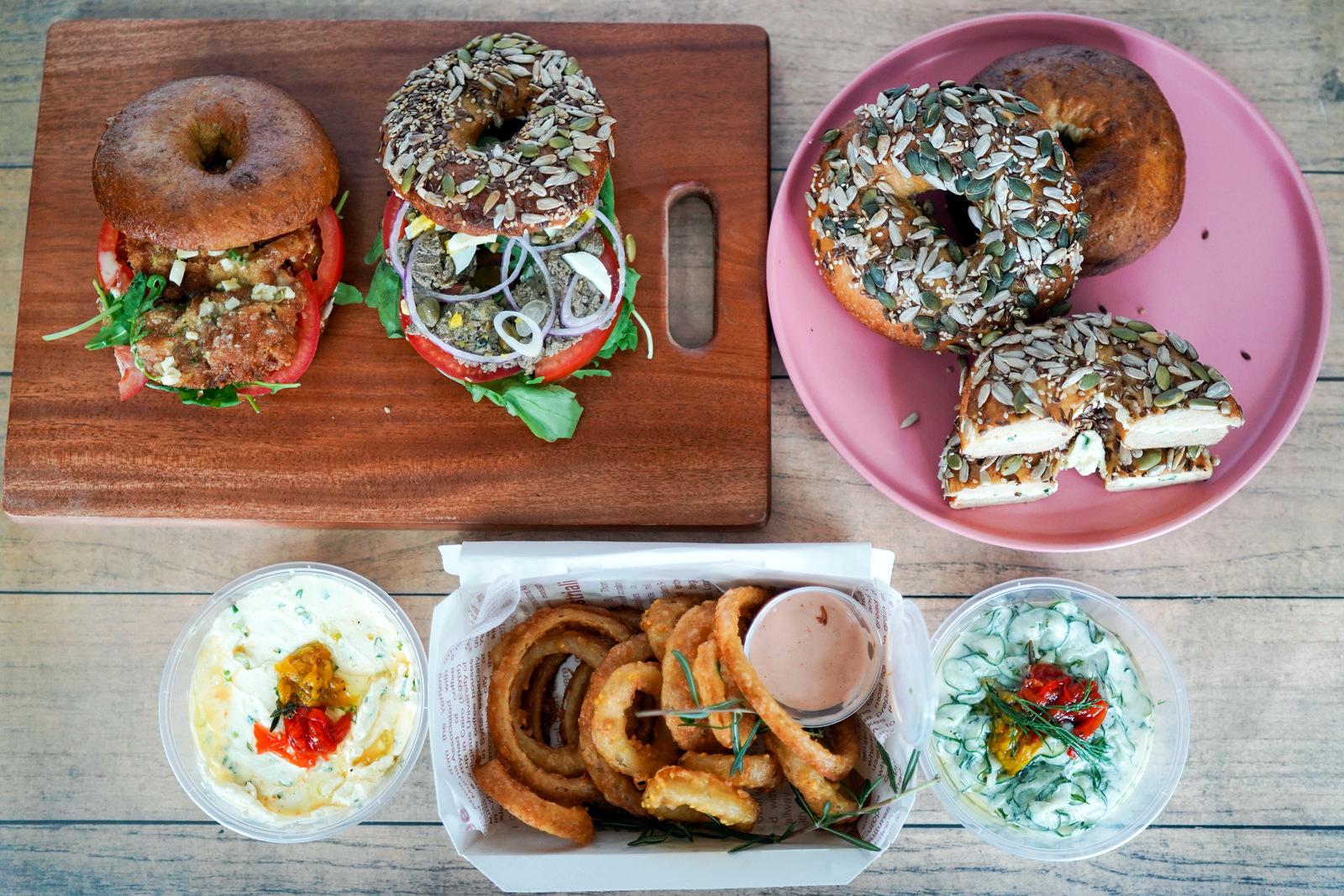 cata, bukit damansara: baking up beautiful bagels for deliveries