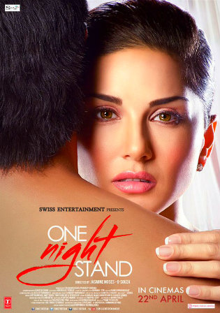 Poster of One Night Stand Full Hindi Movie Download Hd