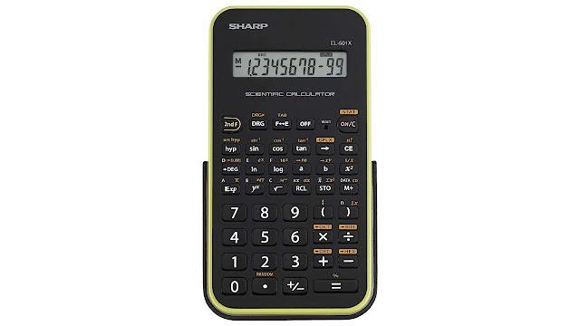 Sharp EL-501XBGR Scientific Calculator