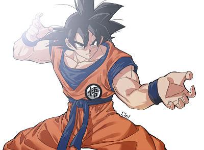 Goku las esferas del dragon