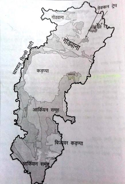 Chhattisgarh Bhugaarbhik Sanrchana