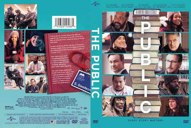 The Public DVD Cover
