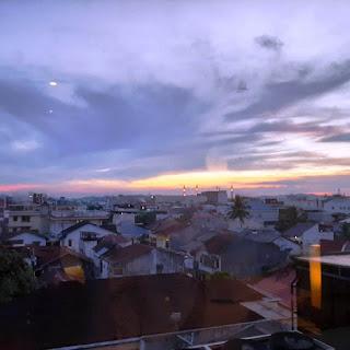 View dari Kamar Hotel Horison