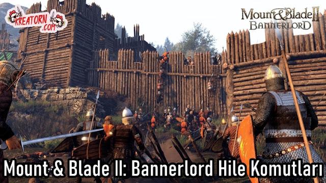 Mount & Blade II: Bannerlord Hile Komutlari