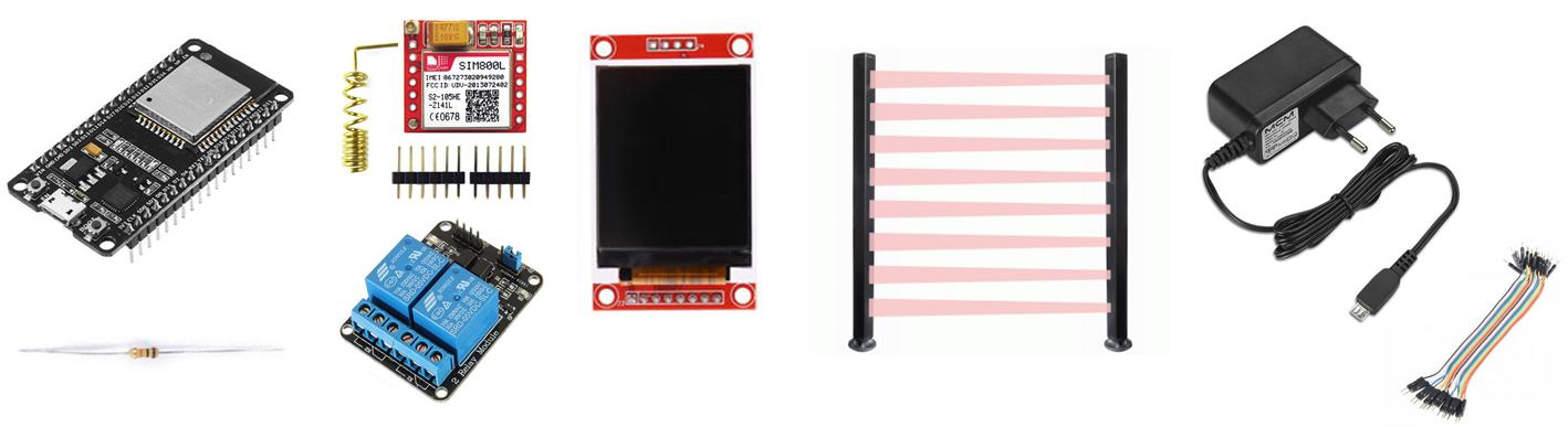 Alarme e Automação com ESP32 e SIM800L - Fernando K Tecnologia