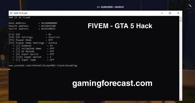 fivem cheat gta 5