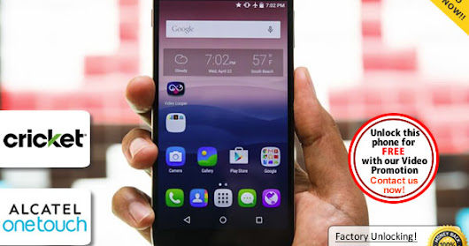 How to Instantly Unlock Alcatel OneTouch Idol 3 Locked to Cricket