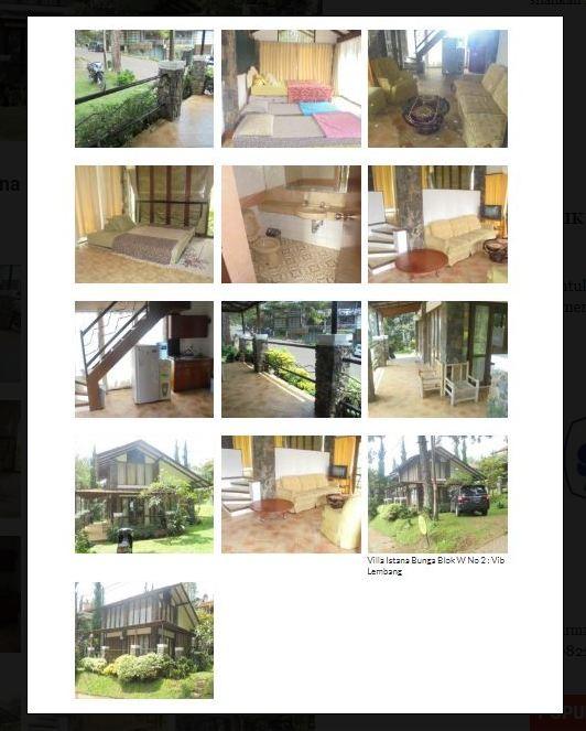 Sewa Villa Istana Bunga Blok W No 2 Lembang : Vib 1 Kamar