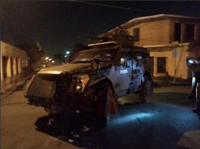 Video-. Así se cimbro N.Laredo, Tamaulipas, enfrentamiento entre Fuerzas Federales y Cártel del Noreste en la frontera