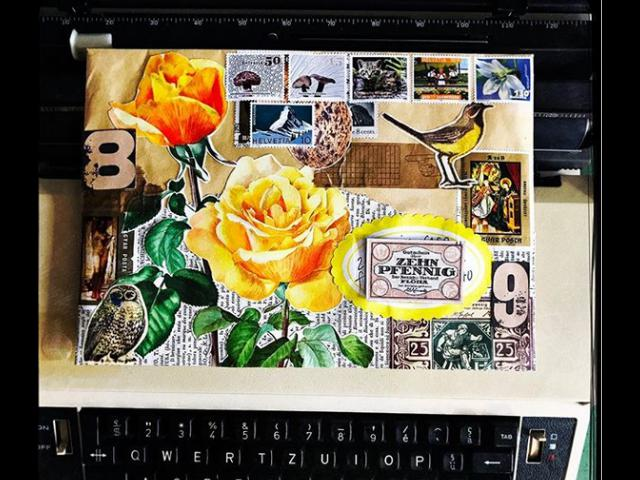 Pengertian Mail Art Atau Seni Pos Beserta Contoh Gambar Terbaru