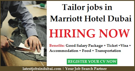 Tailor jobs in JW Marriott Marquis Hotel Dubai