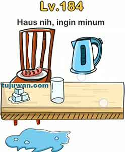 Brain out Ingin minuman nih haus