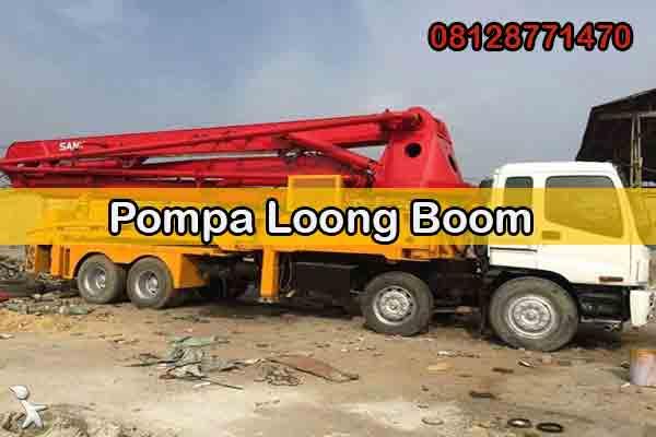Harga Sewa Pompa Long Boom