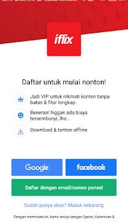 Cara Mendaftar dan Berlangganan Iflix VIP di Android