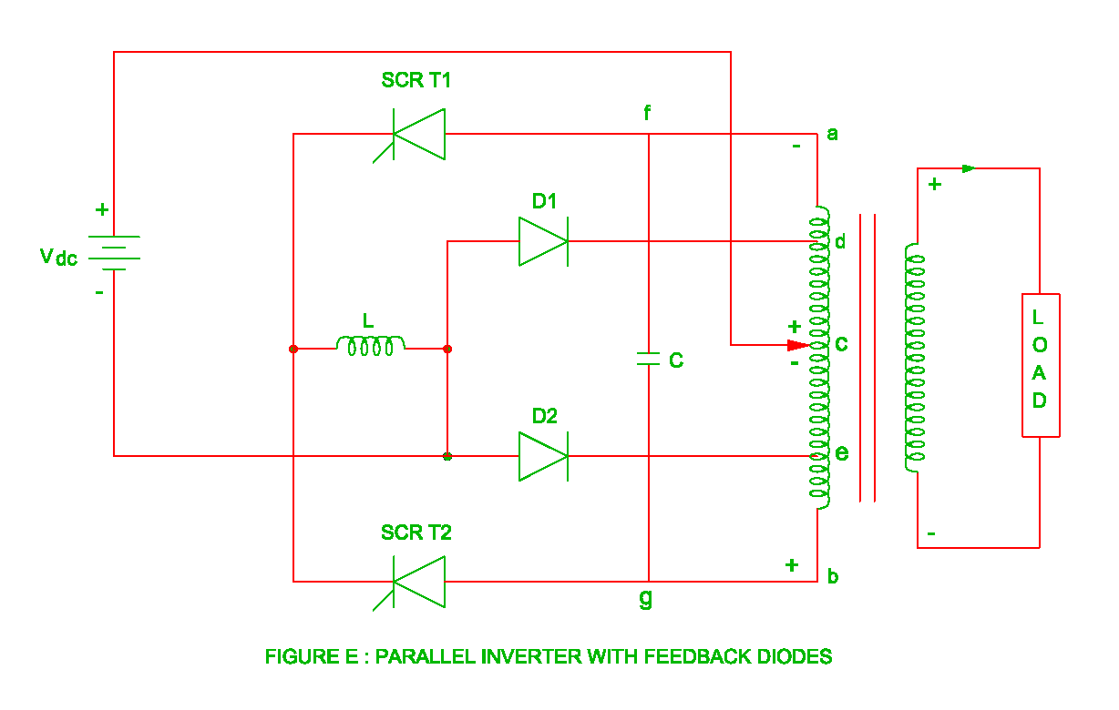 Parallel Inverter Or Parallel Inverter With Feedback