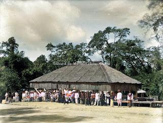 sekolah misionaris kristen direnovasi dan dipindahkan ke kabanjahe