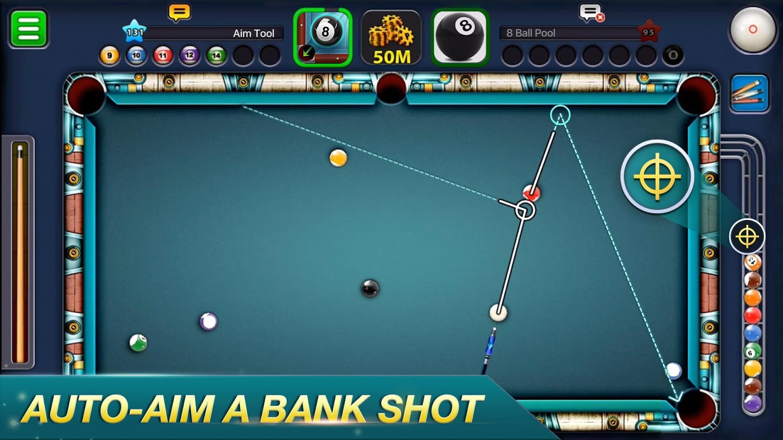8 Ball Pool Hileli APK - Android Bilardo Oyunu v5.0.0