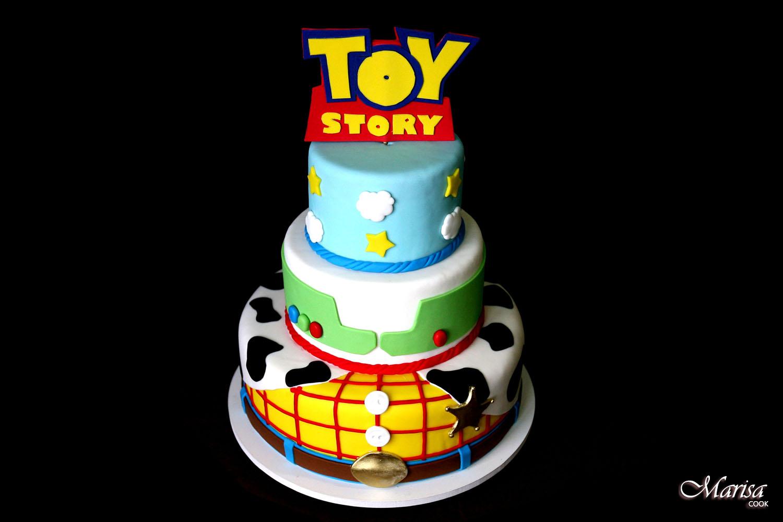 bolo cenográfico Toy Story