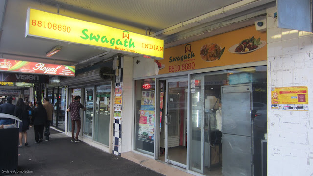 Swagath Indian food Wentworthville