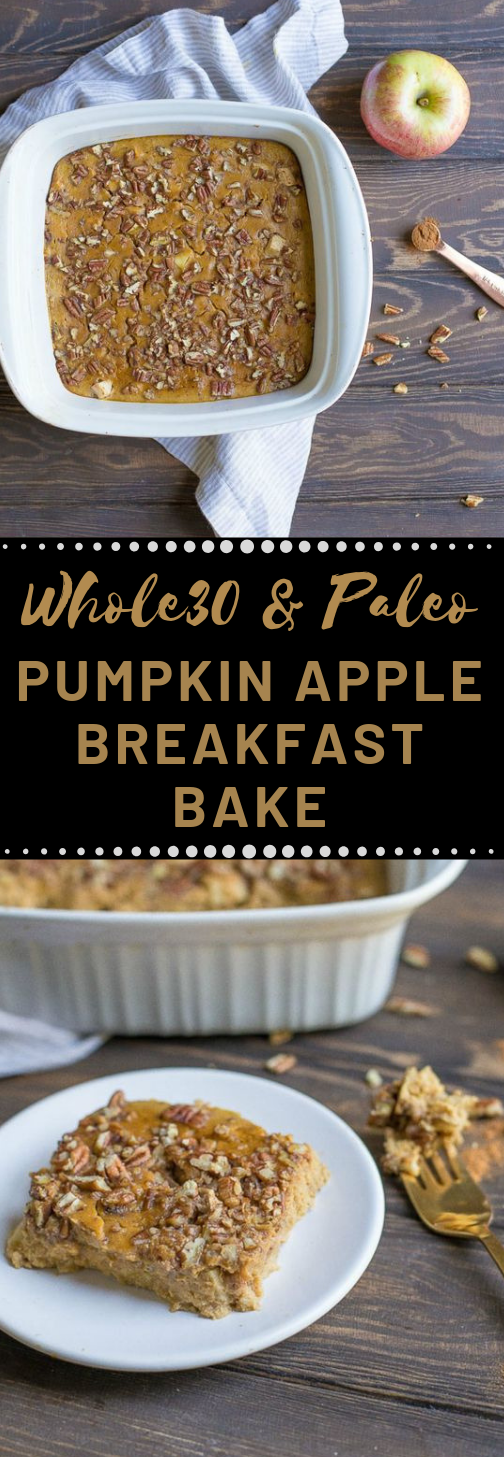 PUMPKIN APPLE BREAKFAST BAKE #diet #desserts #keto #paleo #breakfast