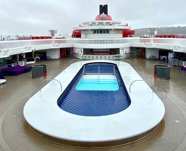 Virgin Voyages Scarlet Lady Review Pool