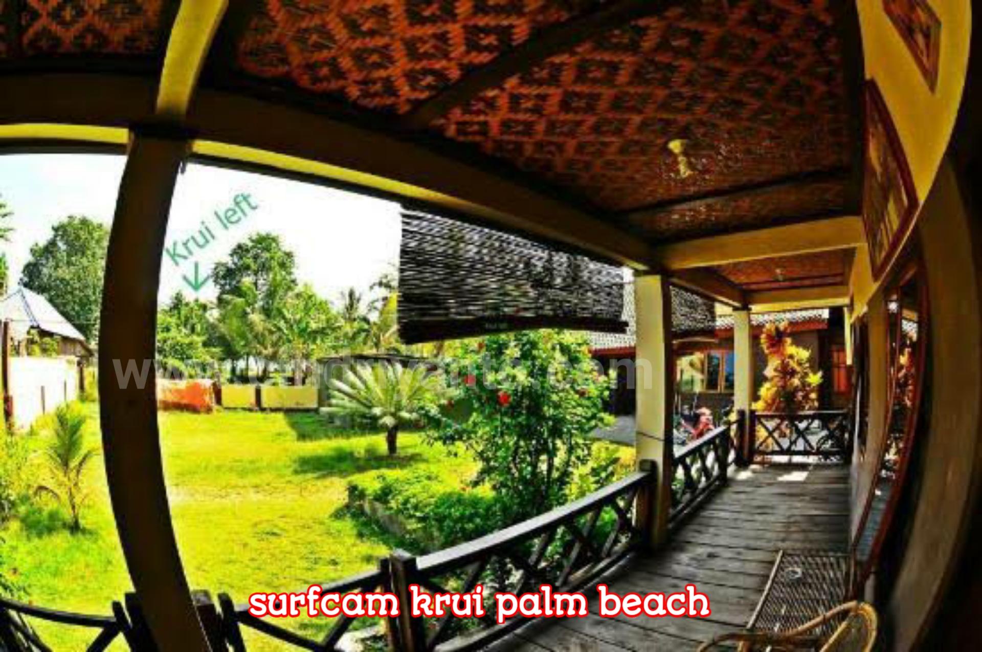 villa di pesisir barat Villa di krui Surfcamp Krui Palmbeach