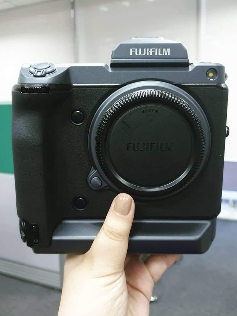 The GFX 100 prototype!