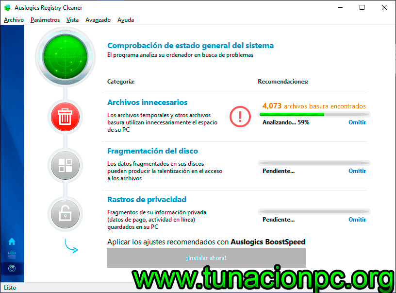 Descargar Auslogics Registry Cleaner Final