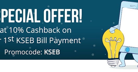 KSEB bill payment offers