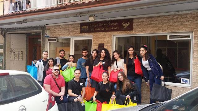 Οι Πόντιοι φοιτητές της Θεσσαλονίκης κοντά στους άπορους ανθρώπους