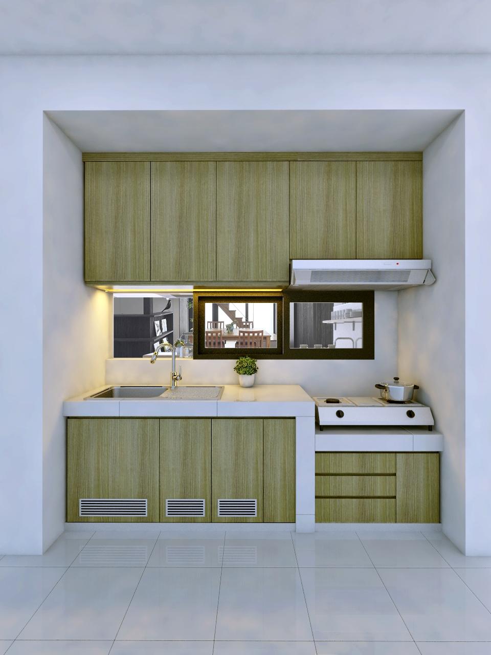Desain Dapur Bersih Dan Dapur Kotor Sobhome