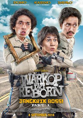 Warkop DKI Reborn: Jangkrik Boss! part 1 Poster