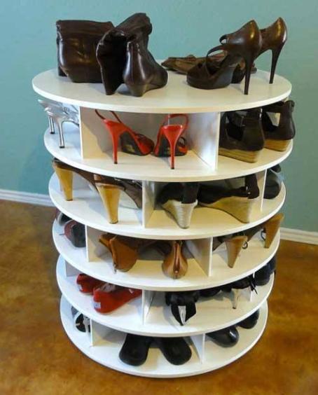 Model rak sepatu kayu minimalis terbaru