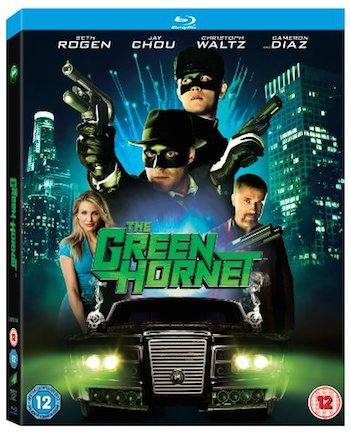 The Green Hornet 2011 Dual Audio [Hindi English] BRRip 480p 300mb