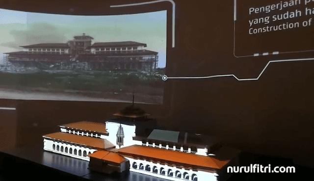 teknologi kekinian di museum gedung sate