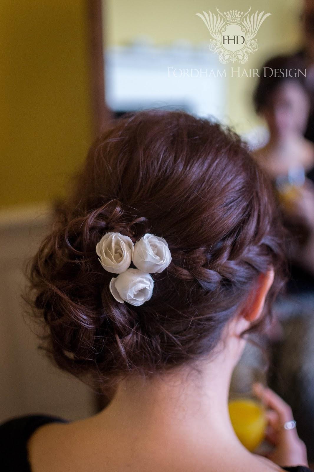 elmore court wedding hair styling