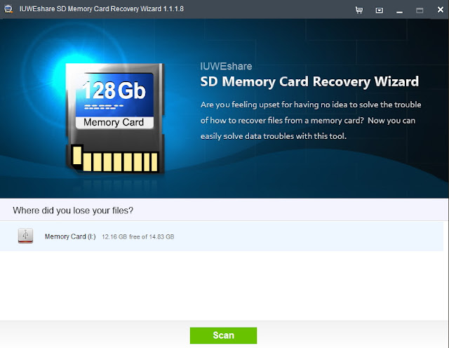 IUWEshare SD Memory Card Recovery Wizard Full