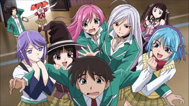 Rekomendasi Anime School yang Tidak Biasa Part 1