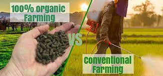 inorganic farming to organic farming