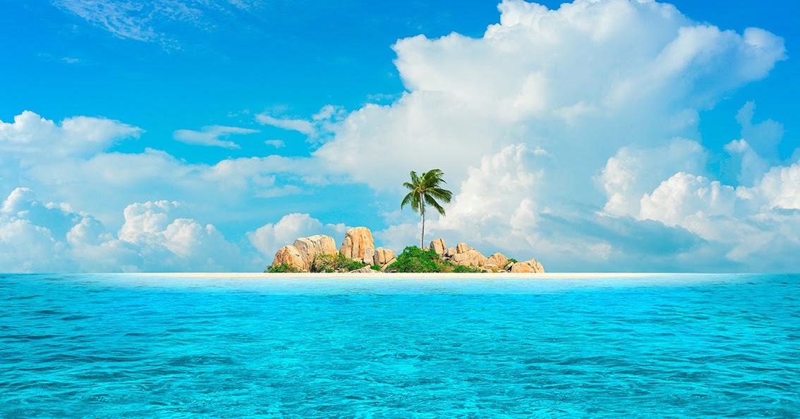 Открытки своими, картинки островов в океане