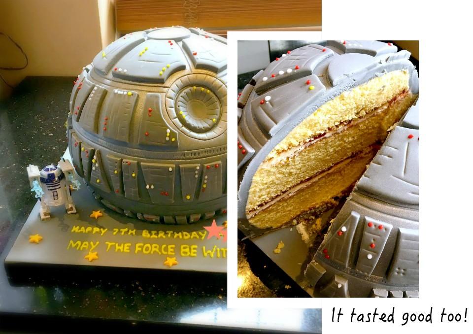 Death Star (Star Wars) cake