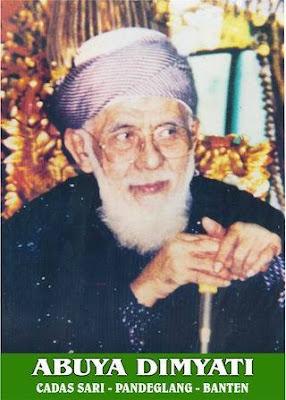 Biografi KH. Muhammad Dimyati (Abuya Dimyati - Mbah Dim) bin Muhammad Amin al-Bantany
