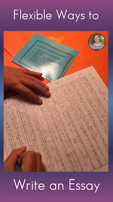 There's more than one way to learn the structure of an essay!  #teaching #middleschool