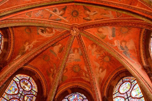 musicerende engelen kathedraal le mans, kathedraal sarthe,