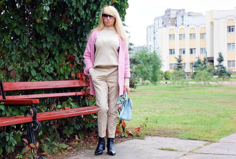 "Shopping on ROSEGAL: Fall Fashion Haul. Покупки на осень - Теплый кардиган, бежевый пуловер и ""узконосые"" ботинки / обзор, отзывы, фото"