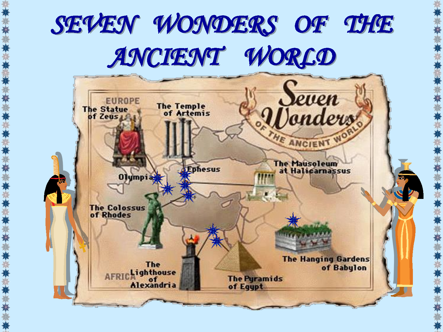 Far Future Horizons The Seven Wonders Of The Ancient World
