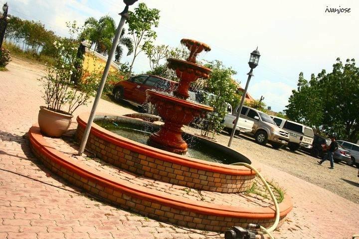 A fountain at Sarangani Highlands in Mindanao